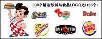 Напитки и продукты питания логотип векторный материал-1