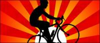 Закат в Велоспорт
