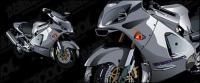 現実的なオートバイ