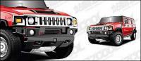 Материал векторных автомобиля Hummer