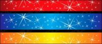 Estrellas espumosos material de antecedentes de vectores