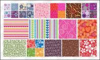 Material de antecedentes de vector destacados mosaico patrón -2