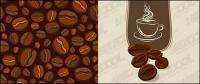 ベクトル材料コーヒー豆