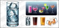 Vektor materiell kühle Sommer-drinks