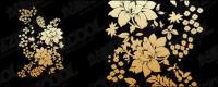 実用的な花パターン ベクトル材料