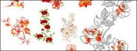 ファッションの花