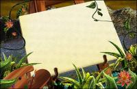 Ratán verde plantas Sketchpad