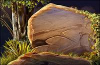 en el bosque de piedra