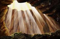 Licht und Höhle