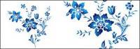 Bunga-bunga yang dilukis tangan berlapis materi psd-5