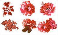 ピンクの花の psd の素材