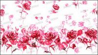 Tangan-dicat mawar
