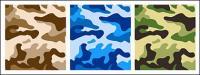 Matériau de camouflage de vecteur