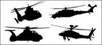Fotos de helicópteros de material de vectores