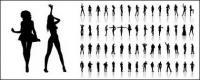 写真 2 でさまざまな文字姿勢の数