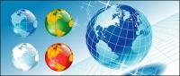 ベクトル シリーズ地球素材 - 2