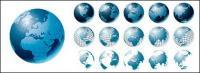 Vektor-Reihe von Erde Material-3