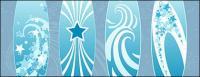 Étoiles, vecteur de lignes et autres matières picturales