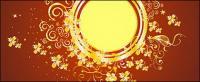 ゴージャスなゴールド ベクトル 9 パターンします。