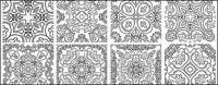 Klassische Muster-Vektor-logo