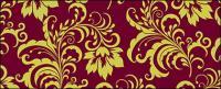 Fundo de lindos padrões de moda