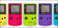 Material de vetor Game Boy Color