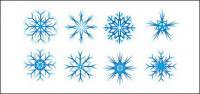 Рождественские снежинки векторный материал