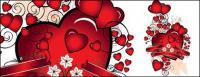 Heart-shaped vector material-4.