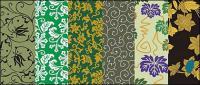 ベクトルの伝統的な絵画シリーズ 7 - の背景パターン