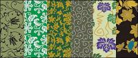 Vector tradicional serie pictórica 7 - patrones de fondo