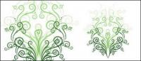 Matériau de vecteur de patron vert