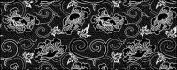 ベクトル伝統的なタイル張りの背景素材-3