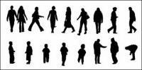 Material de vector de diversos personajes en imágenes