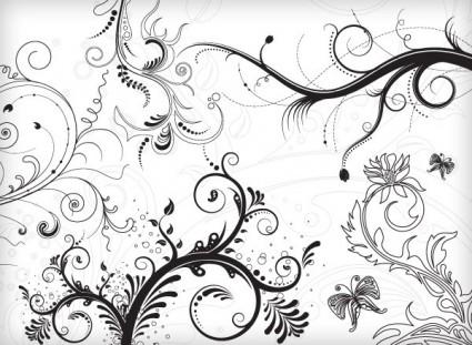 5 цветочные орнаменты