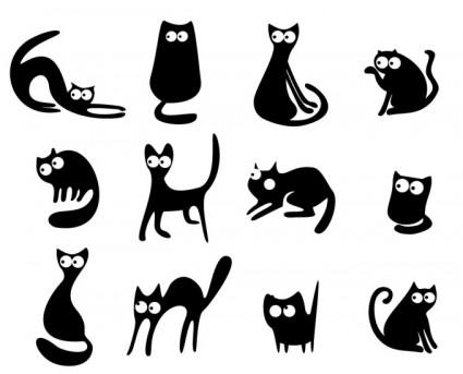 80 Foto Gambar Kucing Vektor Paling Keren
