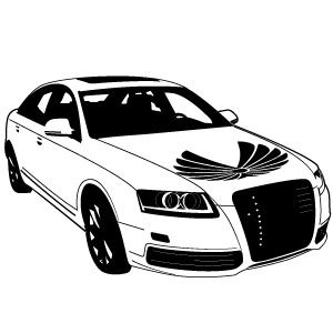 vector de coche Audi