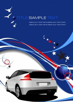 vector automobile fond