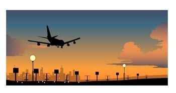 коммерческий рейс Boeing