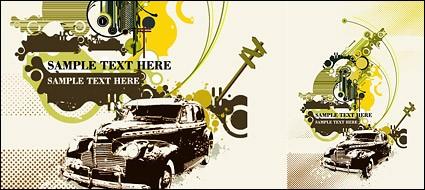 Классические автомобили и тенденции элементов