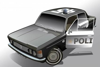полицейский автомобиль Fiat