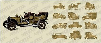 coches clásicos de vector