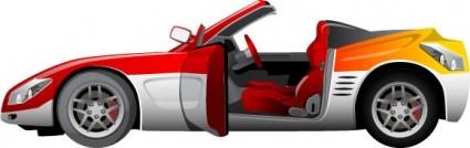 coche de deporte de vector