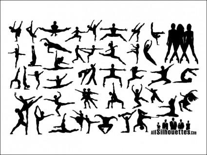 orang-orang menari