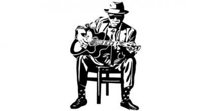 hombre con guitarra