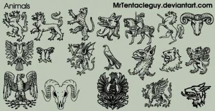 hewan heraldic
