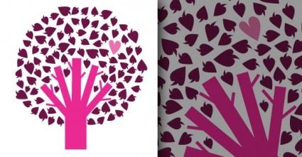 бесплатно дерево с сердцем