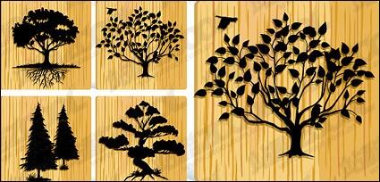 material de los árboles