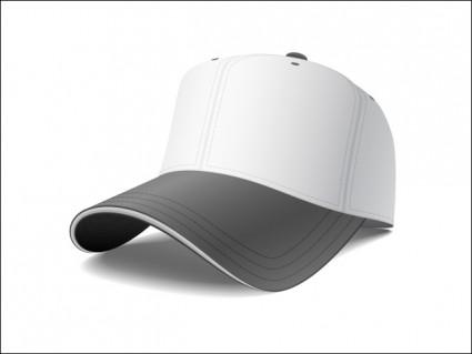 vector de gorra de béisbol