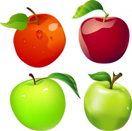 manzanas vectoriales gratis