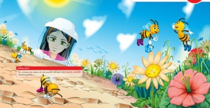 insectos de niña de flores de naturaleza hoja de vectores gratis de cielo